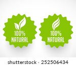 Beautiful 100  Natural Badge...
