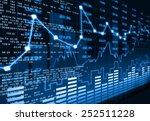 stock market chart    | Shutterstock . vector #252511228
