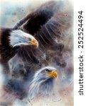 Beautiful Airbrush Painting Of...