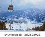 mountains ski resort zell am... | Shutterstock . vector #252528928