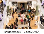 bucharest  romania   february... | Shutterstock . vector #252570964