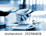 business accounting    Shutterstock . vector #252586828