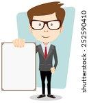 vector illustration of a...   Shutterstock .eps vector #252590410