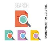 vector search icons.