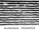 concrete wall with horizontal... | Shutterstock . vector #252634510