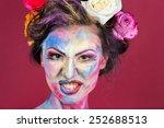 the creative  bright  color... | Shutterstock . vector #252688513