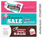 sale banners design | Shutterstock .eps vector #252689380