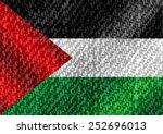 Flag Of Palestine Gaza Strip...