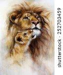 A Beautiful Airbrush Painting...