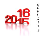 here comes the new year ...... | Shutterstock . vector #252727900
