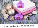 spa composition with  spa... | Shutterstock . vector #252735070