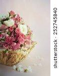 bouquet of mixed flowers | Shutterstock . vector #252745840