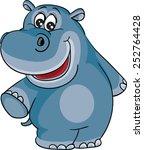 hippopotamus | Shutterstock .eps vector #252764428