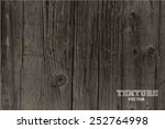 vector wood texture. background ... | Shutterstock .eps vector #252764998