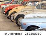 retro postcard of the vintage... | Shutterstock . vector #252800380