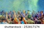 celebrants dancing during the... | Shutterstock . vector #252817174