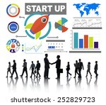 business corporate people start ...   Shutterstock . vector #252829723