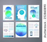templates. design set of web ... | Shutterstock .eps vector #252860890
