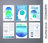 templates. design set of web ... | Shutterstock .eps vector #252860890