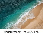 wave on the navy beach  praia... | Shutterstock . vector #252872128