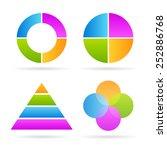 four parts diagrams
