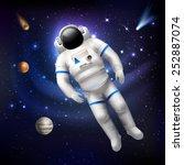 Professional Spaceman Astronau...