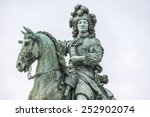 Monument By Louis Xiv In Front...