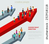 choose right solution... | Shutterstock .eps vector #252918118