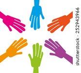 diversity concept design ...   Shutterstock .eps vector #252943966