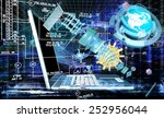 engineering designing... | Shutterstock . vector #252956044