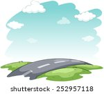an image showing the hitting... | Shutterstock .eps vector #252957118