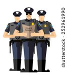 Three Police Officers Were...