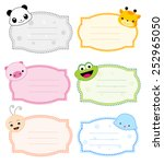 Colorful Kids Name Tags With...
