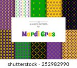 vector illustration of mardi... | Shutterstock .eps vector #252982990