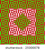 texture in red and green