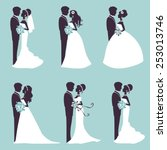 Illustration Of Six Wedding...