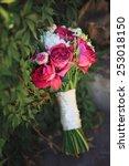 wedding bouquet.  | Shutterstock . vector #253018150