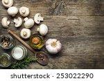 ingredients with fresh... | Shutterstock . vector #253022290