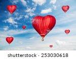 love balloons  | Shutterstock . vector #253030618