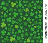 Background With Clovers  St....