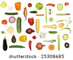 Vegetable Selection In Abstrac...