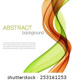abstract background with color... | Shutterstock .eps vector #253161253