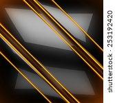 hot black metal background | Shutterstock . vector #253192420