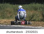 a go kart driver getting out of ... | Shutterstock . vector #2532021