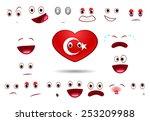 flag of turkey | Shutterstock .eps vector #253209988