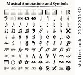 elements of musical symbols