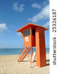 Lifeguard Post On Waikiki Beac...
