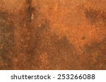 background with rust on steel | Shutterstock . vector #253266088