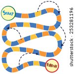 illustration of a boardgame...   Shutterstock .eps vector #253281196