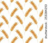 seamless watercolor pattern... | Shutterstock .eps vector #253284253